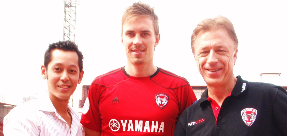 Toni Kallio signs for Muangthong United FC