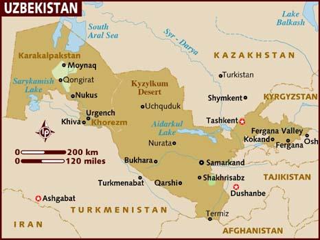 Ensiaskeleita Uzbekistanissa (Toni Lindberg's blog) osa 2.