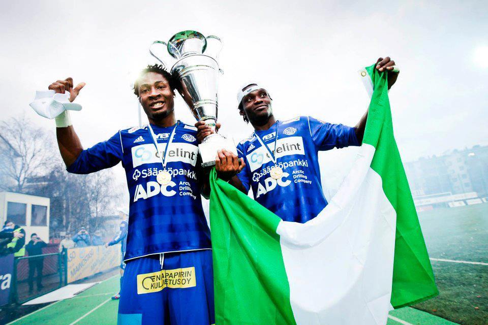 TopSpot's Nigerian Trio Triumphs – RoPS to Veikkausliiga!